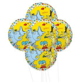 Dr. Seuss Favorites 5pc Foil Balloon Kit