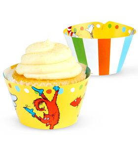 Dr. Seuss Favorites Cupcake Wrappers (12)