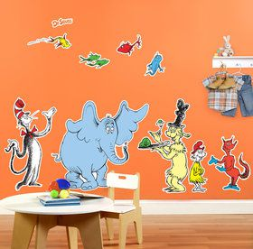 Dr. Seuss Favorites Giane Wall Decal