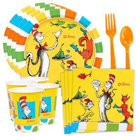 Dr. Seuss Favorites Standard Tableware Kit (Serves 8)