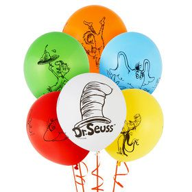 Dr. Seuss Favorites Themed Latex Balloon
