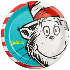 "Dr. Seuss Luncheon 9 1/2"" Plates (8 Pack)"