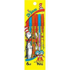 Dr. Seuss Pen Pack (6 Pack)