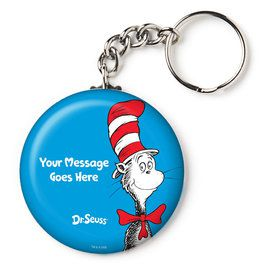 "Dr. Seuss Personalized 2.25"" Key Chain (Each)"