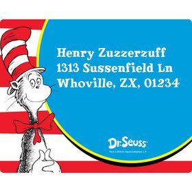Dr. Seuss Personalized Address Labels (Sheet of 15)