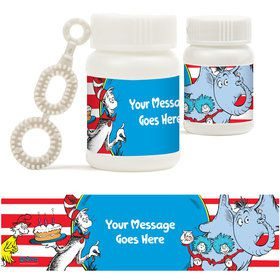 Dr. Seuss Personalized Bubbles (18 Pack)