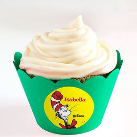 Dr. Seuss Personalized Cupcake Wrappers (Set of 24)