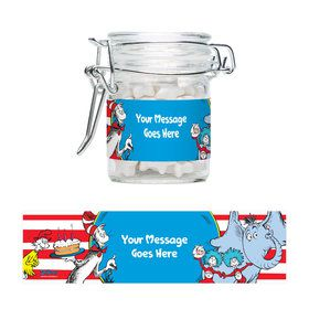 Dr. Seuss Personalized Swing Top Apothecary Jars (12 ct)