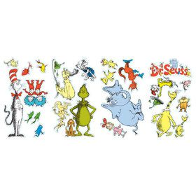 Dr. Seuss Removable Wall Decorations