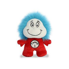 Dr. Seuss Thing 1 & Thing 2 Double Dood Plushie