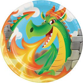 "Dragon 9"" Lunch Plates (8 Count)"