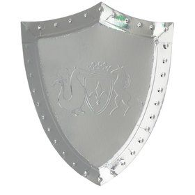 Dragon Knights Sheild Shaped Plates