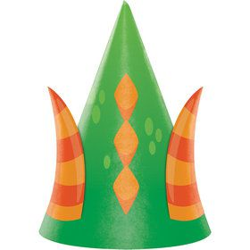 Dragon Party Hats (8 Count)