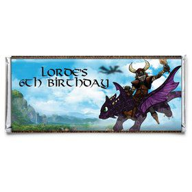 Dragon Whisperer Personalized Candy Bar Wrapper (Each)
