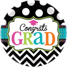"Dream Big Graduation 7"" Cake Plates (60 Count)"