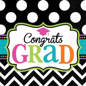 Dream Big Graduation Beverage Napkins (125 Count)
