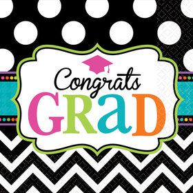 Dream Big Graduation Luncheon Napkins (125 Count)