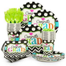 Dream Big Graduation Standard Tableware Kit (Serves 50)