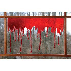 Drops of Blood Window Decoration (Each)