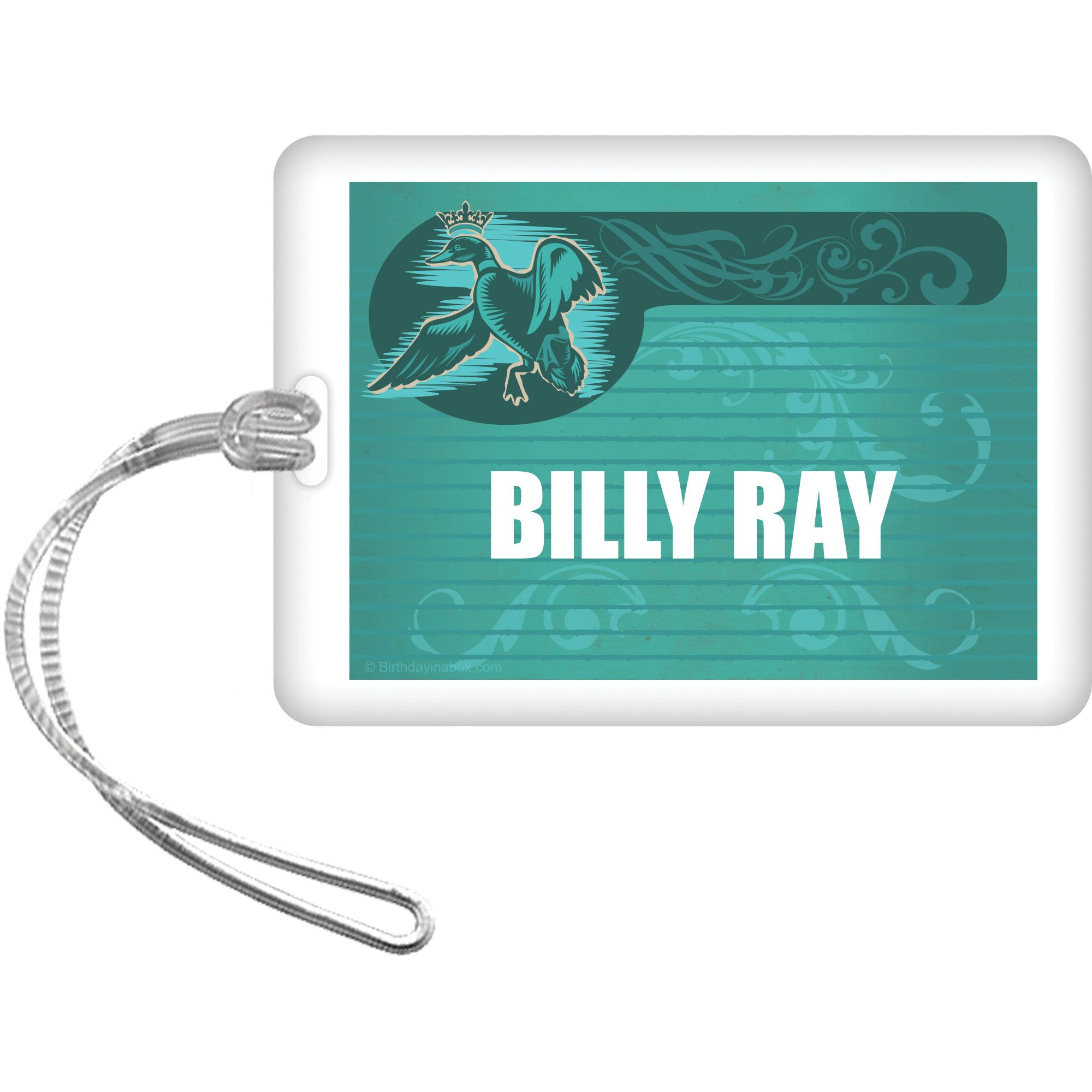 Duck Dynasty Personalized Bag Tag (Each) - Party Supplies BB1390BG