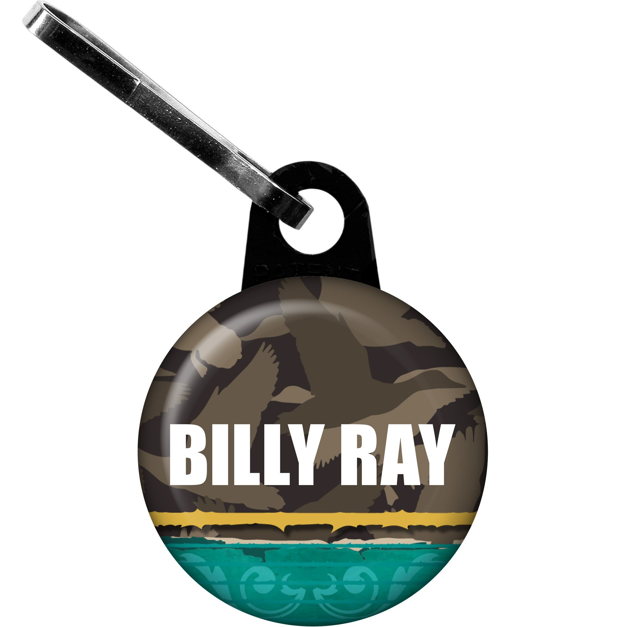 Duck Dynasty Personalized Zipper Pull (Each) - Party Supplies BB1390ZP