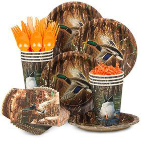 Duck Pond Party Standard Tableware Kit Serves 8