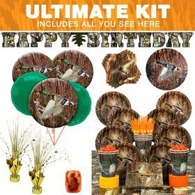 Duck Pond Party Ultimate Tableware Kit Serves 8