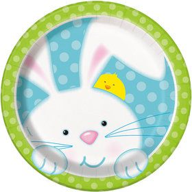 "Easter Bunny 7"" Cake Plate (8 Count)"