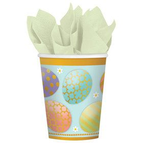 Easter Golden Easter 9oz Paper Cup (8)