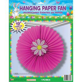 Easter Hanging Paper Fan