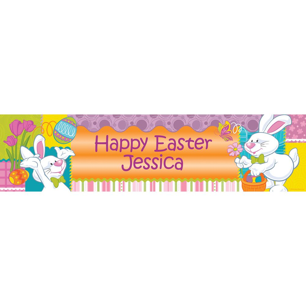 Easter Personalized Banner (Each) BB1395BN