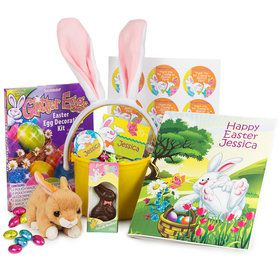 Easter Personalized Basket (Each)