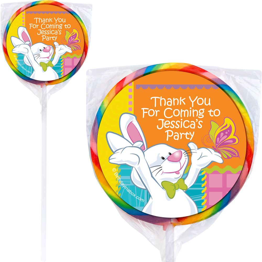 Easter Personalized Lollipops (Each) BB1395PP-B