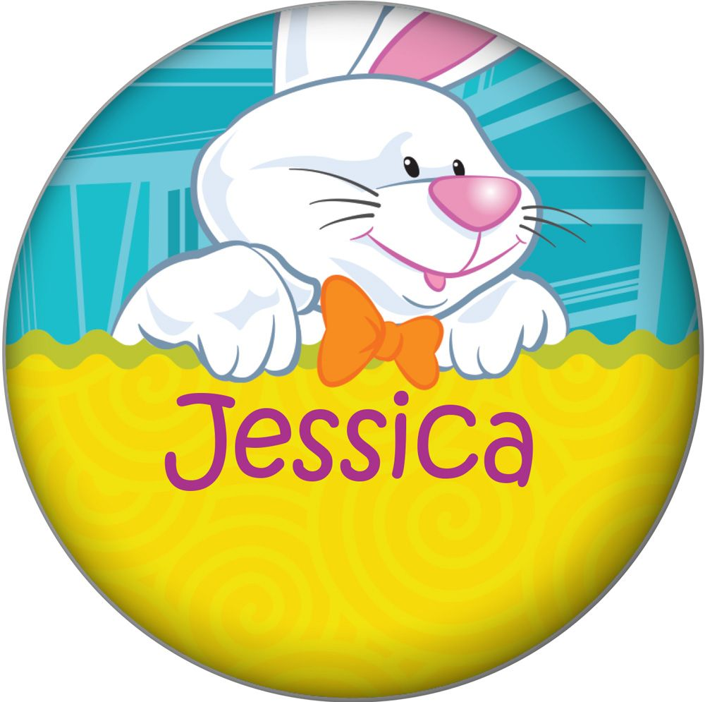 Easter Personalized Magnet (Each) - Party Supplies BB1395MG