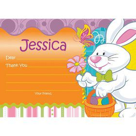 Easter Personalized Thank You Note (Each)