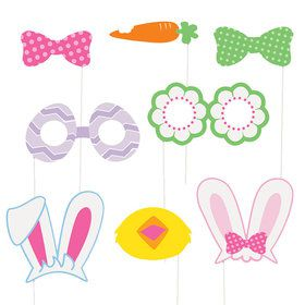 Easter Photo Props (10 Count)