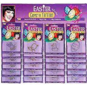 Easter Rhinestone Tattoo Assortment