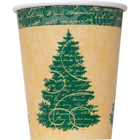 Elegant Christmas 9 oz. Cups (8 Pack)