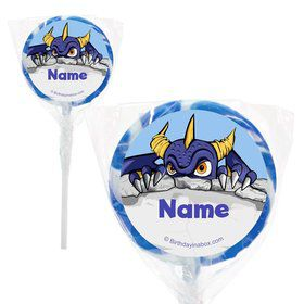 "Elements Force Personalized 2"" Lollipops (20 Pack)"