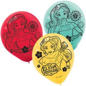 "Elena of Avalor 12"" Latex Balloons (6 Count)"