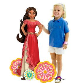 "Elena of Avalor 54"" Airwalker Balloon (Each)"