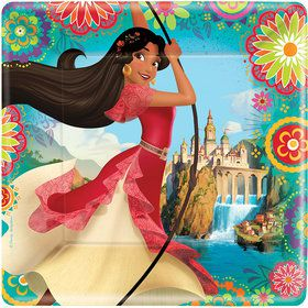 "Elena of Avalor 9"" Luncheon Plate (8 count)"