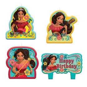 Elena of Avalor Birthday Candle Set (4 Candles)