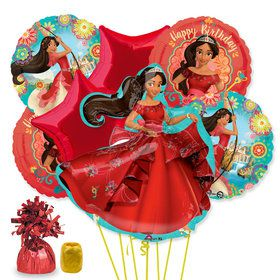 Elena of Avalor Deluxe Balloon Bouquet Kit
