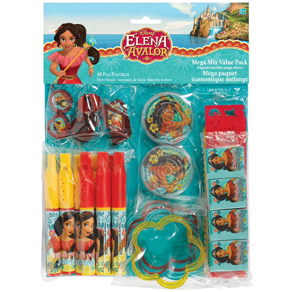 Elena of Avalor Mega Mix Favor Pack (48 Pieces) BB397963