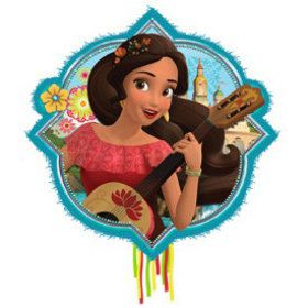 Elena of Avalor Outline Pinata