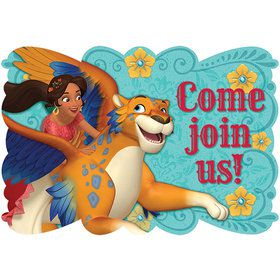 Elena of Avalor Postcard Invitations (8 Count)