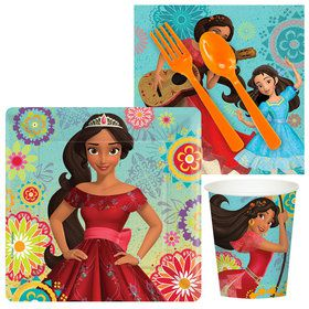 Elena of Avalor Standard Tableware Kit (Serves 8)
