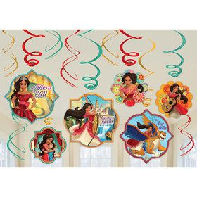 Elena of Avalor Swirl Decorating Kit