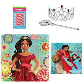 Elena Tableware and Cake Topper Kit